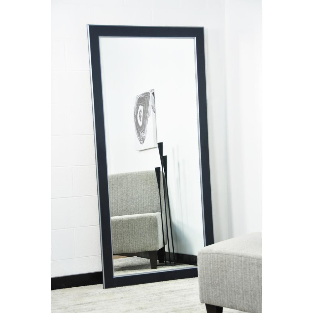 Modern Twist 32 in. x 65.5 in. Tall Mirror