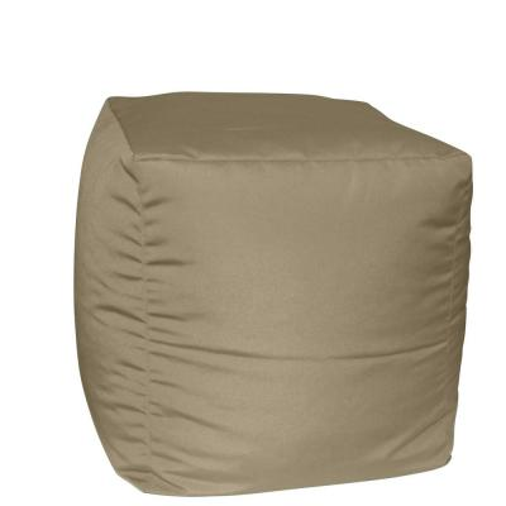 Sunbrella Spectrum Mushroom Ottoman/Seat Outdoor Pouf