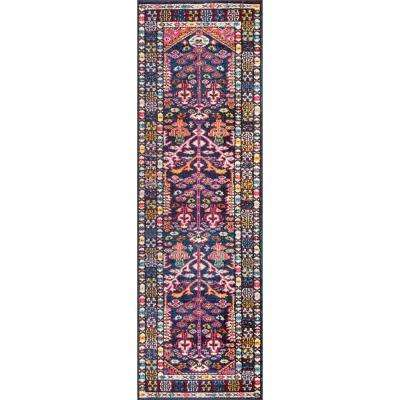 Tribal Tonita Pink 3 ft. x 8 ft. Runner Rug