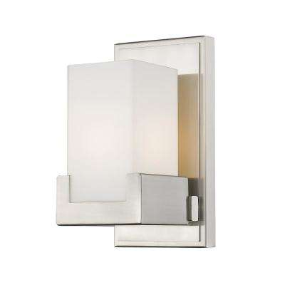 Park Brushed Nickel 8-Watt Integrated LED Bath Light