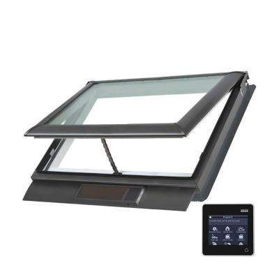 44-1/4 x 26-7/8 in. Solar Powered Fresh Air Venting Deck-Mount Skylight with Laminated Low-E3 Glass