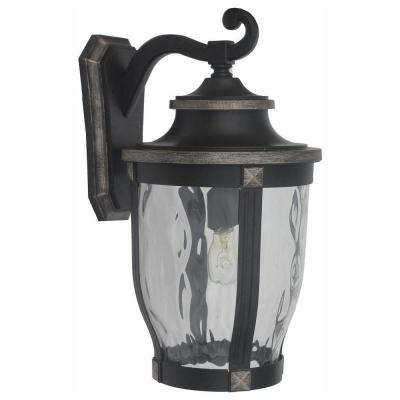 Mccarthy 1 Light Bronze Outdoor Wall Lantern Sconce
