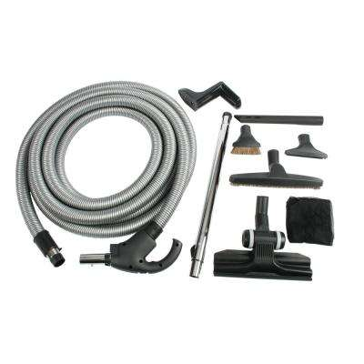 Central Vacuum Low Voltage Accessory Kit with 30 ft. Switch Control Hose
