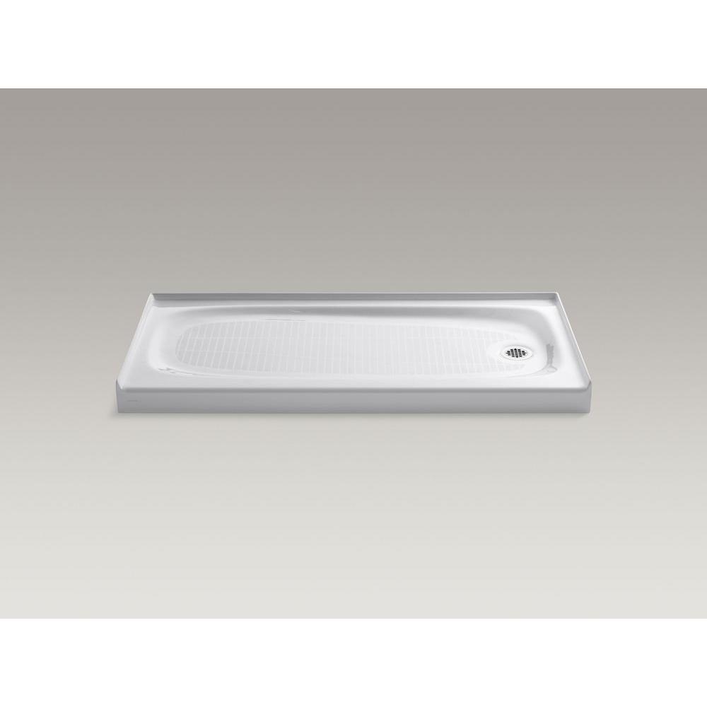 Kohler Salient 60 In X 30 Single Threshold Shower Base White
