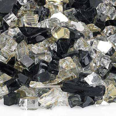 1/4 in. Las Vegas Reflective Fire Glass 10 lbs. Bag