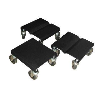 1500 lb. Capacity Snowmobile Dolly 3-Pack