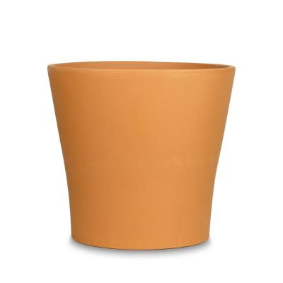 7.5 in. Cabo Flair Terra Cotta Clay Pot