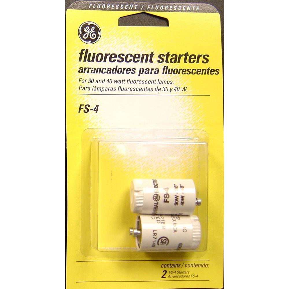 30-Watt And 40-Watt Fluorescent Lamp Starters (2-Pack)-FS