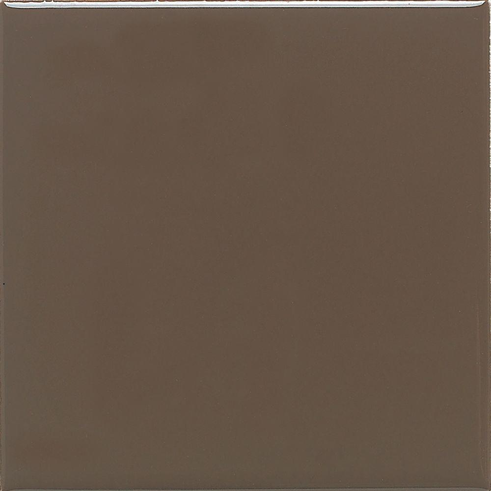 Daltile Semi Gloss Artisan Brown 4 14 In X