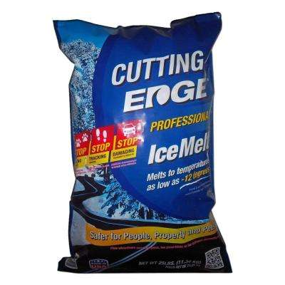 25 lb. Screened Pro Ice Melt (3-Way Blend) with Corrosion Inhibitor, Anti-caking Agent and Color Indicator