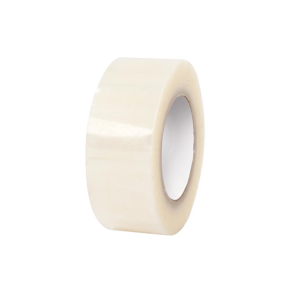 2 in. x 110 yds. Clear Premium Hot Melt Tape (6-Pack)