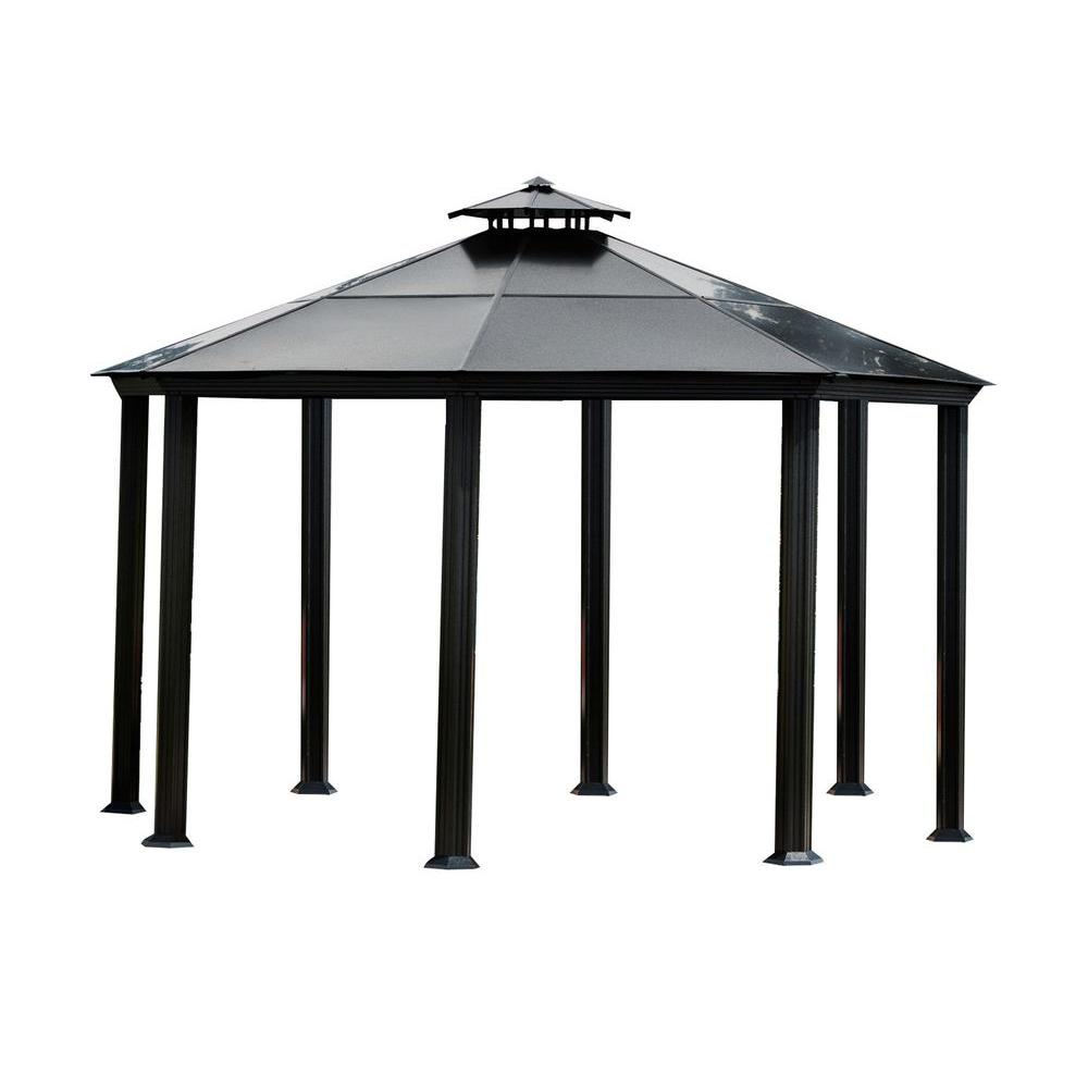 sc 1 st  Home Depot & STC 14 ft. x 14 ft. Monte Carlo Gazebo-GZ4 - The Home Depot