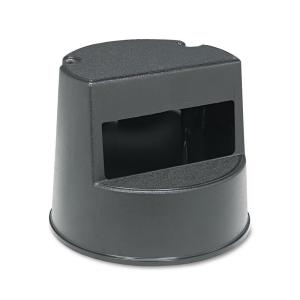 Rubbermaid Commercial Products Mobile Two Step Stool in Black by Rubbermaid Commercial Products