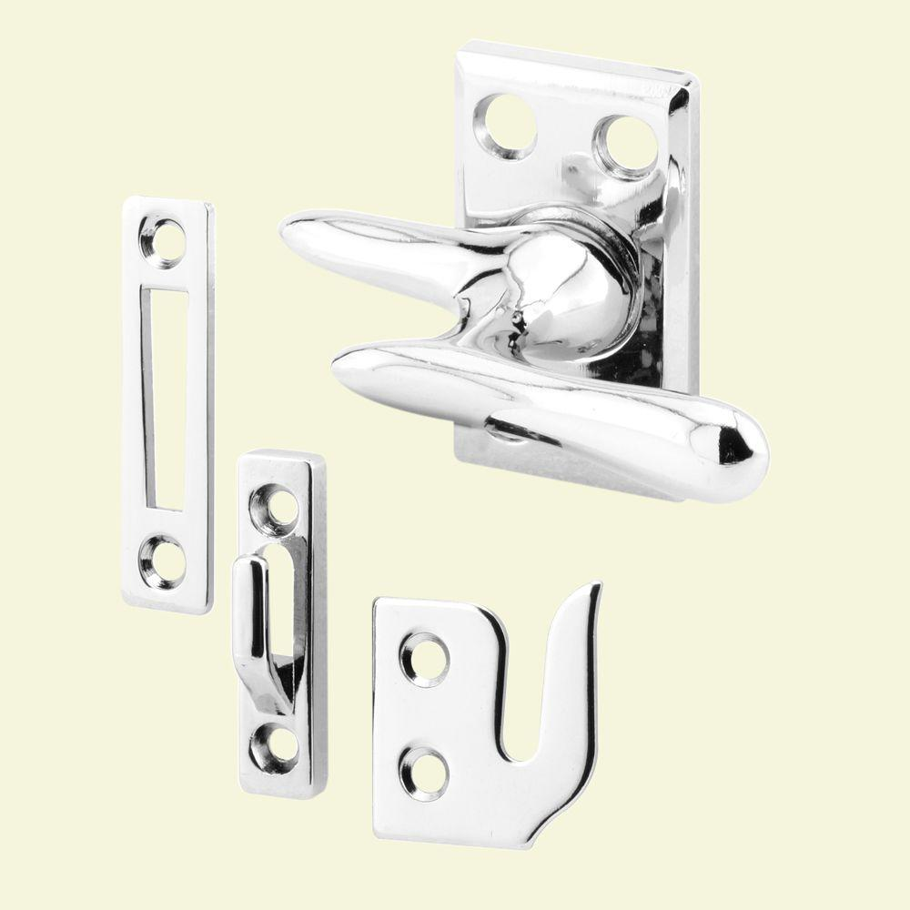 prime line casement window lock chrome plated h 3684 the home depot