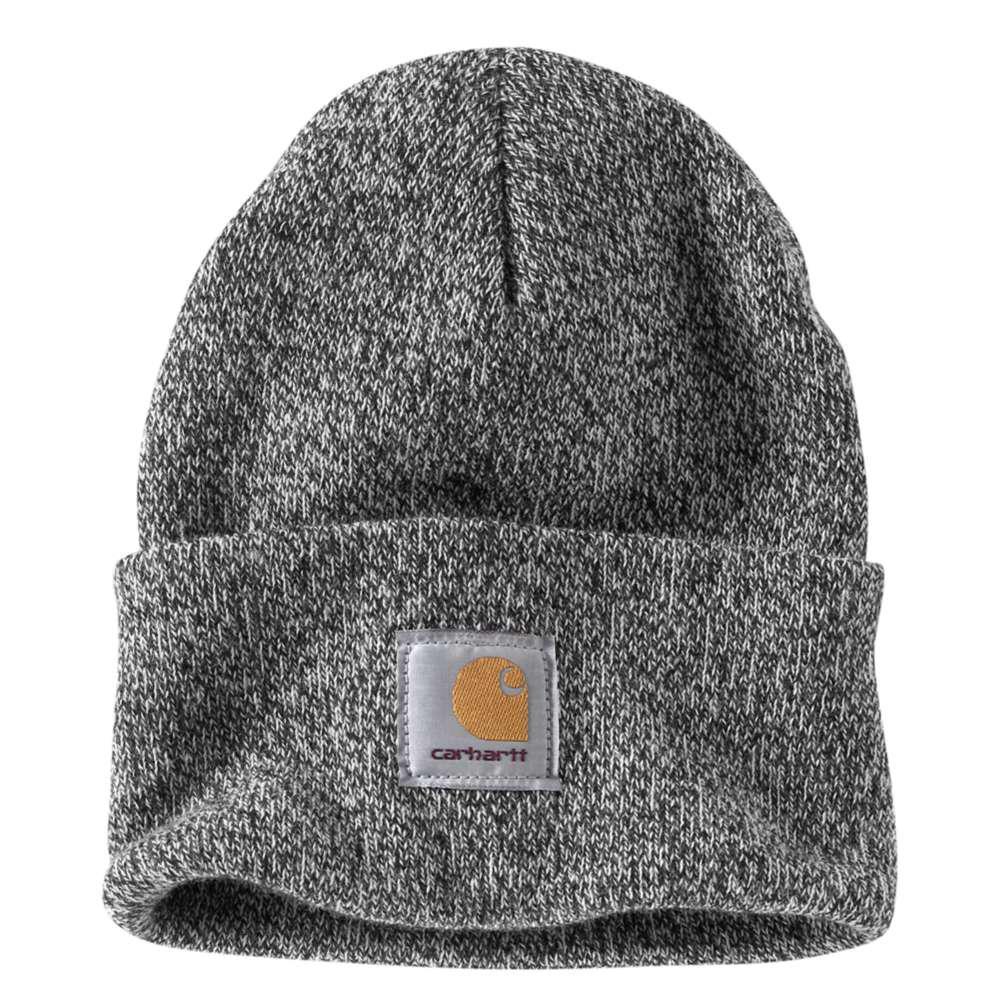 cd7fde24fd3 Carhartt Men S Ofa Black White Acrylic Hat Headwear A18 019 The. Carhartt  Acrylic Watch Hat Car Heart Knit Cap Men Gap Dis A18 3 9 ...