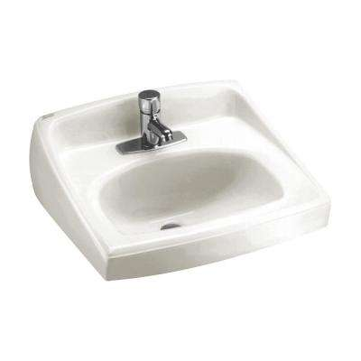 Wall Mount Sinks Bathroom Sinks The Home Depot