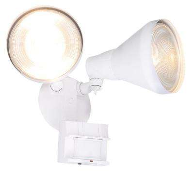 180-Degree White Motion Activated Outdoor Flood Light
