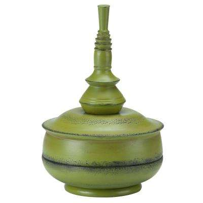 Small Celery Balinese Patio Finial