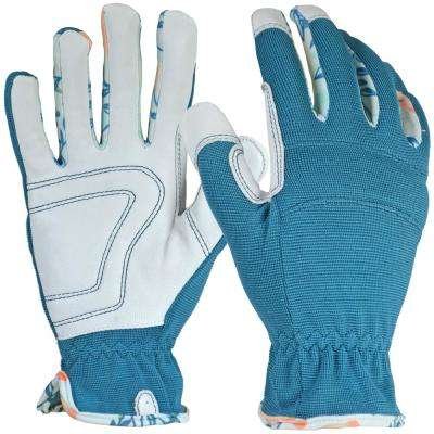 Women's Large Hybrid Leather Glove