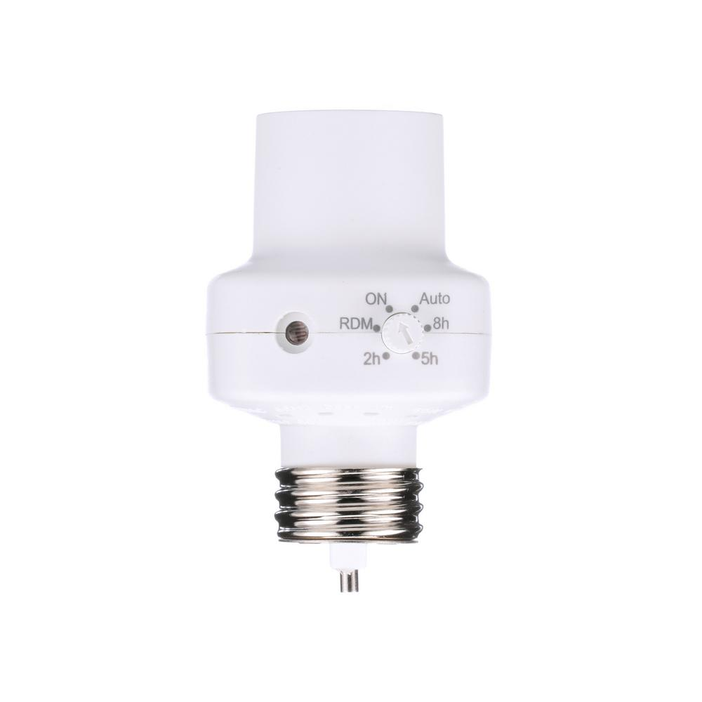 Energy Savings TV Non-Branded Items Home Improvement Woods 59415 Indoor Screw-In Light Socket Screw-In w// Wireless Remote Control /& Programmable Timer