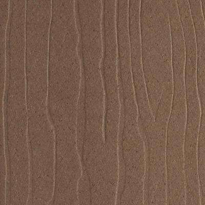 Vantage 1 in. x 5-3/8 in. x 1/4 ft. Bridle Composite Decking Board Sample
