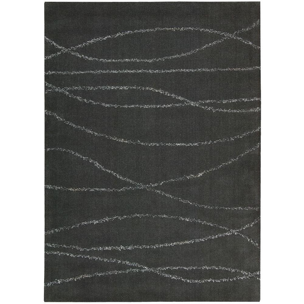 Nourison Overstock Monterey Mid Grey 5 ft. 3 in. x 7 ft. 4 in. Area Rug