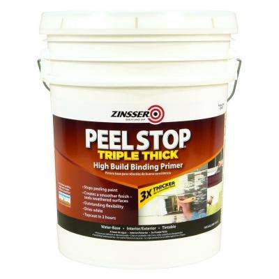 Peel Stop 5 gal. White Triple Thick Interior/Exterior High Build Binding Primer