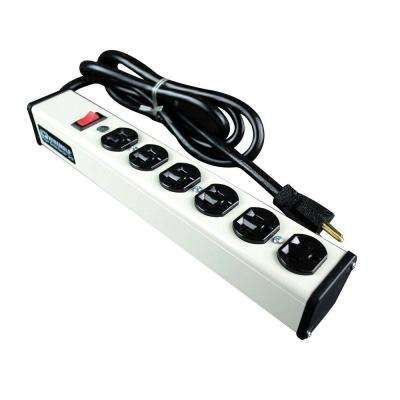 6-Outlet 20 Amp Compact Power Strip, 6 ft. Cord