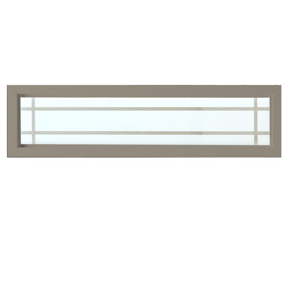 Decorative Windows For Homes: Hy-Lite 47.5 In. X 11.5 In. Prairie Decorative Glass
