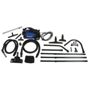 Cen-Tec C105 Canister Vacuum and 25 ft. High Reach Accessory Kit by Cen-Tec