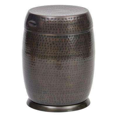 Bronze Madras Drum Patio Side Table