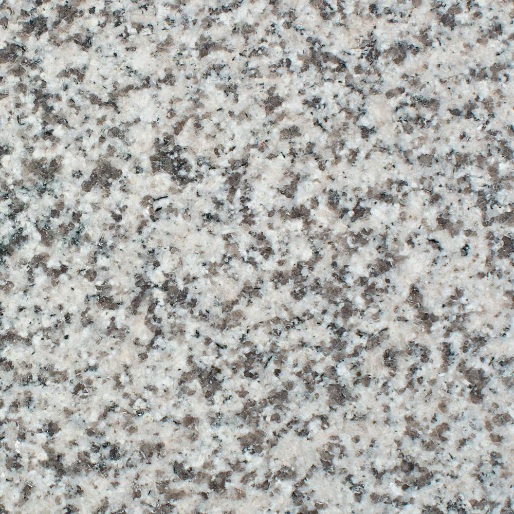 Rain Forest 12 In X 12 In Orient Grey Granite Floor And Wall
