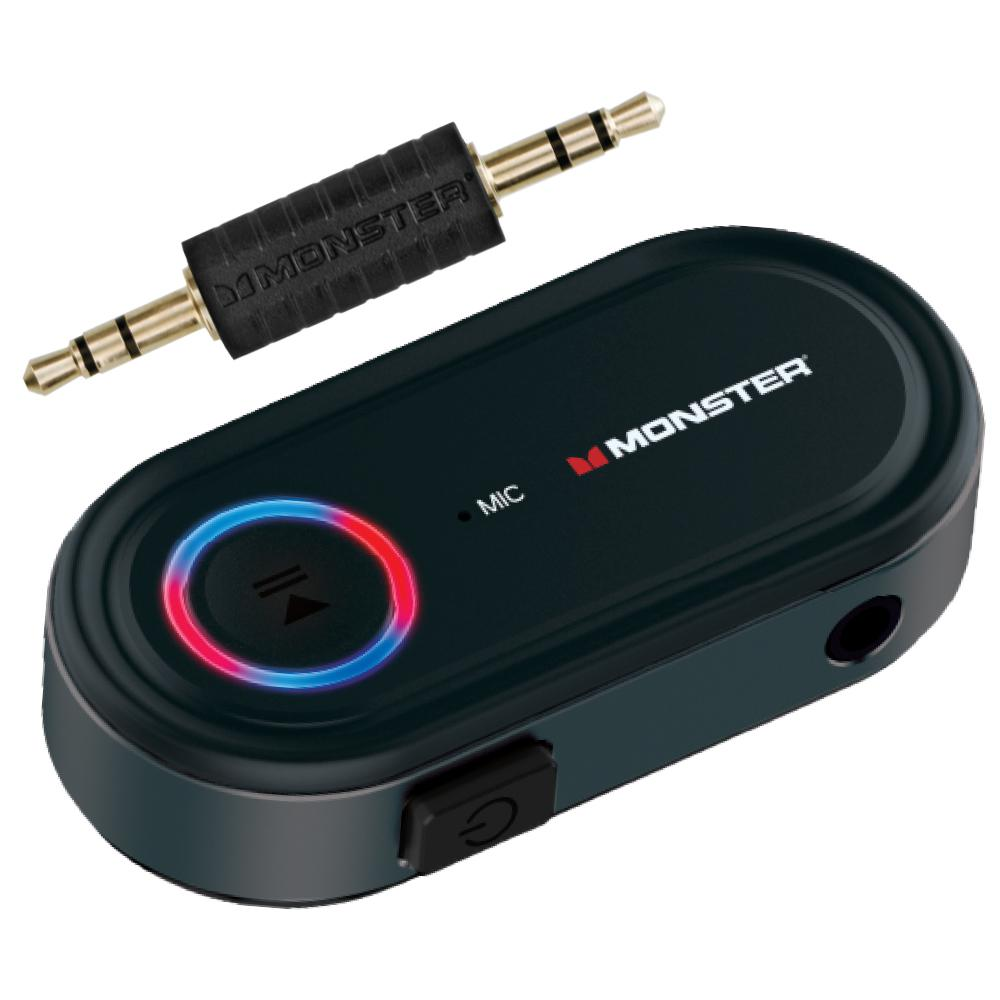 Monster Bluetooth Audio Receiver Wba9 1008 Blk The Home Depot