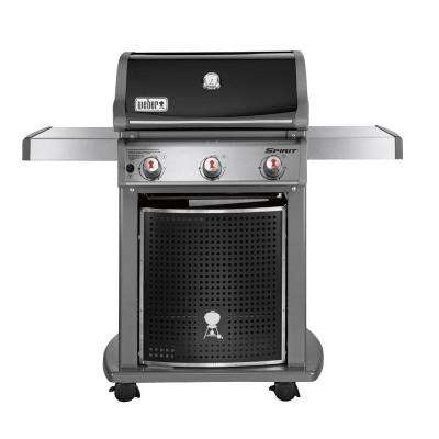 Spirit E-310 3-Burner Natural Gas Grill in Black (Featuring the Gourmet BBQ System)