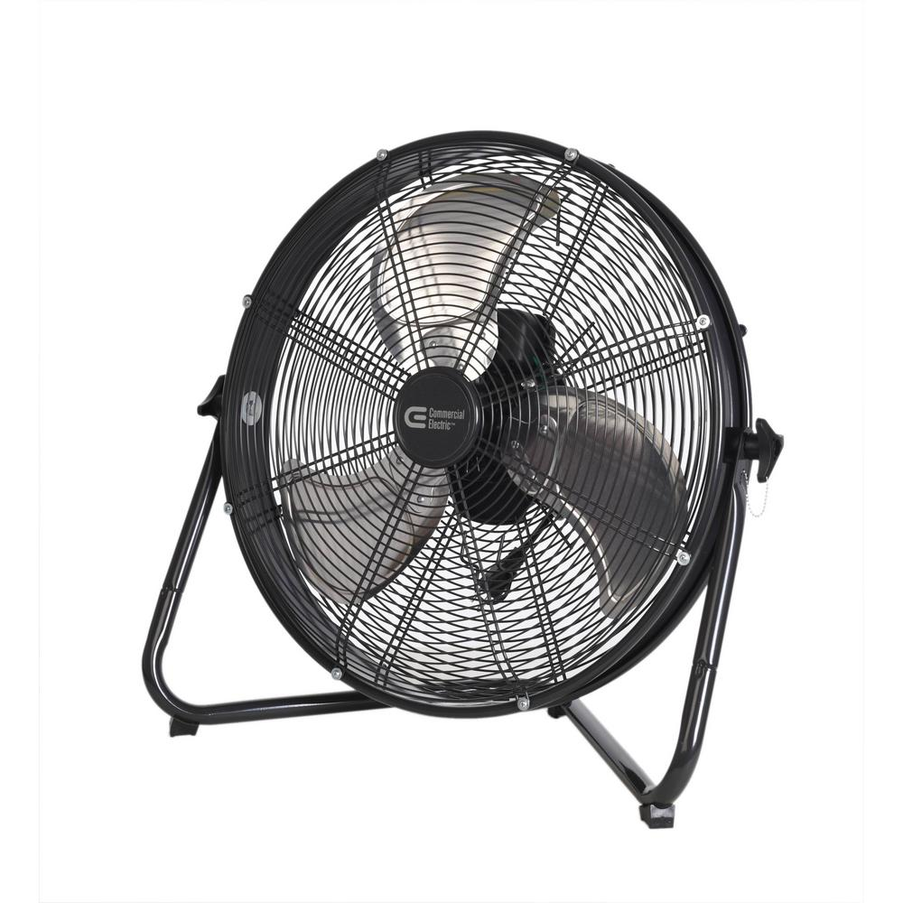 Commercial Electric 20 In 3 Speed High Velocity Shroud Floor Fan Wiring Diagram For A Pedestal