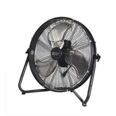 20 in. 3-Speed High Velocity Shroud Floor Fan