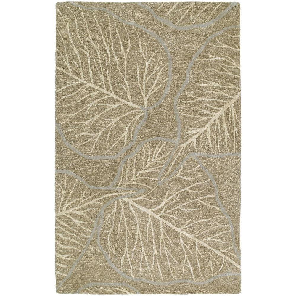 Kaleen Astronomy Newton Chocolate 9 ft. 6 in. x 13 ft. Area Rug