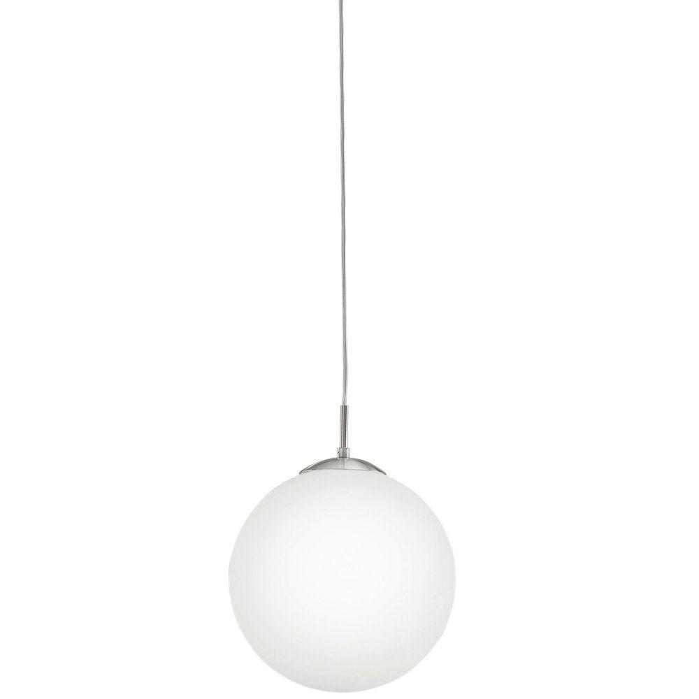 Eglo rondo 1 light matte nickel ceiling pendant 85263a the home depot eglo rondo 1 light matte nickel ceiling pendant arubaitofo Gallery
