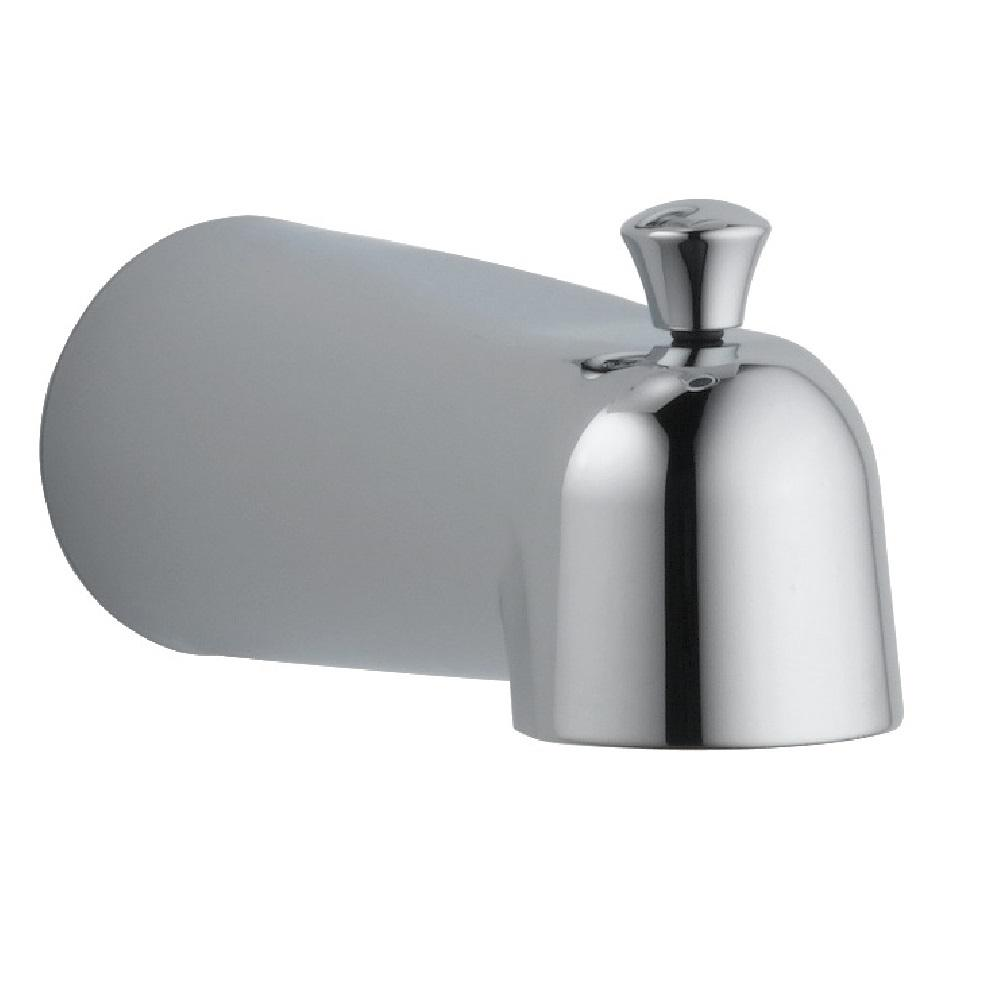 Grail 6 in. Metal Pull-Up Diverter Tub Spout in Chrome