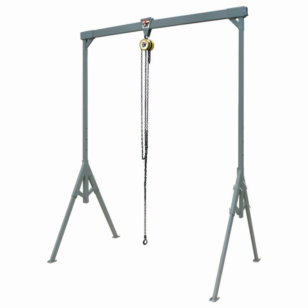 Click here to buy  Light-Duty #2 COMPLIFT 1000 lbs. 8 ft. x 8 ft. Steel Adjustable Gantry Crane.