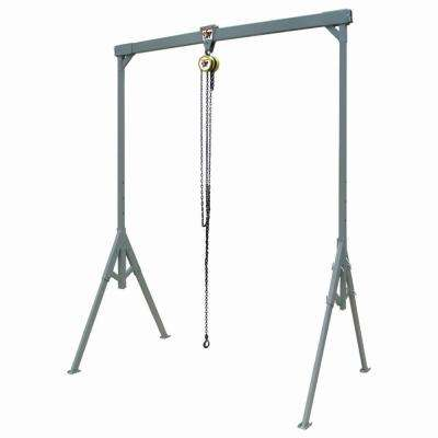 Light-Duty #2 COMPLIFT 1000 lbs. 8 ft. x 8 ft. Steel Adjustable Gantry Crane