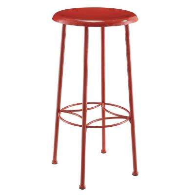 Whitman 30 in. Red Bar Stool