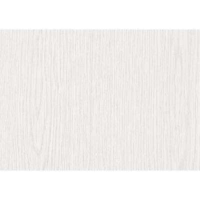 26 in. x 78 in. Whitewood Self-adhesive Vinyl Film for Furniture and Door Renovation/Decoration