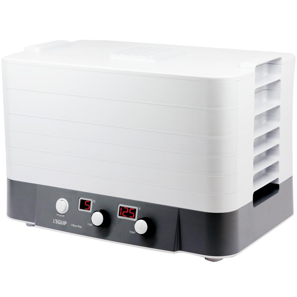 L'EQUIP FilterPro 6-Tray Food Dehydrator 306220