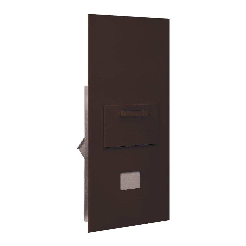 3600 Series Collection Unit Bronze Private Rear Loading for 7 Door