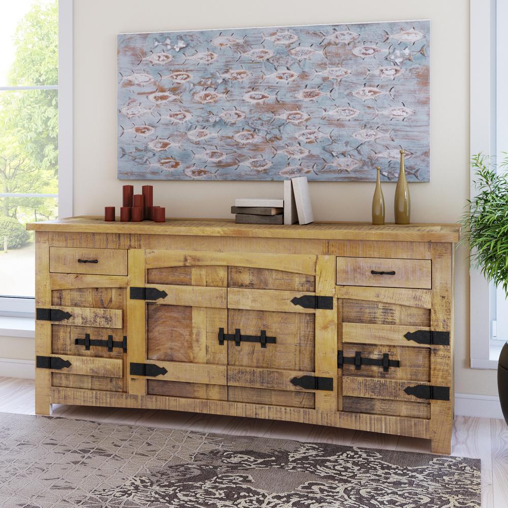 Wood Buffet Pic