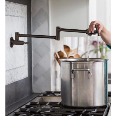 Explore Wall Mount Potfiller with Lever Handle in Oil Rubbed Bronze