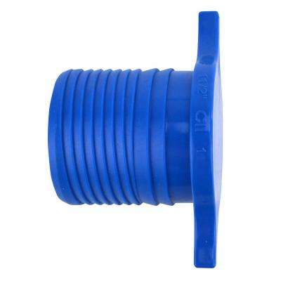 1-1/2 in. Blue Twister Polypropylene Insert Plug