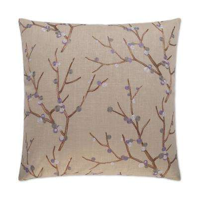 Sprout Feather Down 24 in. x 24 in. Standard Decorative Throw Pillow