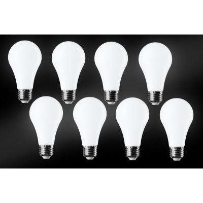 60W Equivalent Daylight A19 LED Light Bulb (8-Pack)